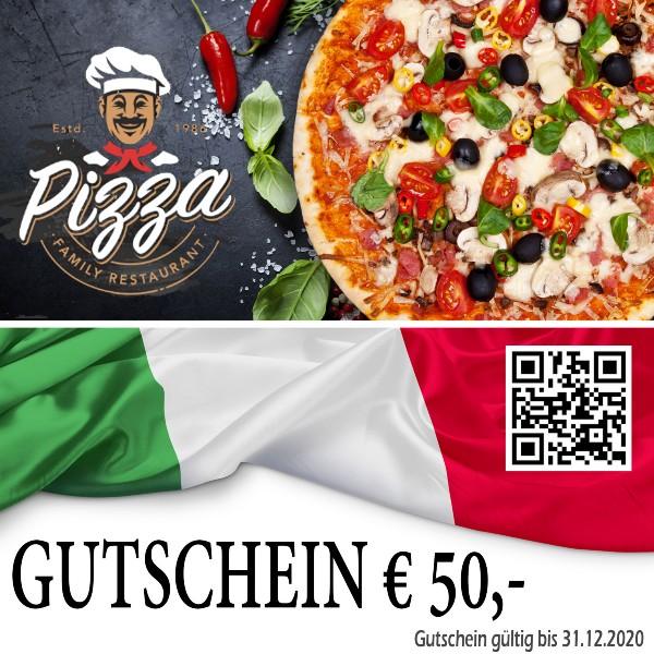 Pizzaria Gutschein