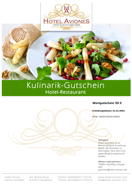 gutschein software hellmedia - kulinarik frühling